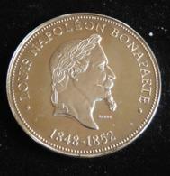 SERIE PRESIDENT DE LA REPUBLIQUE LOUIS NAPOLEON BONAPARTE 1848 1852 FRANCE MEDAILLE JETON TOURISTIQUE - Tourist