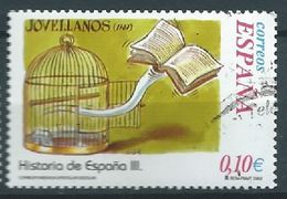 ESPAGNE SPANIEN SPAIN ESPAÑA  2002 JOVELLANOS ED 3921 YV 3489 MI 3769 SG 3891 SC 3175J - 1931-Hoy: 2ª República - ... Juan Carlos I