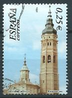 SPANIEN ESPAGNE SPAIN ESPAÑA 2002 FROM M/S ARCHITECTUR MUDEJAR ALCAÑIZ TERUEL ED 3942 YV 3511 MI 3790 SC 3182 SG 3912 - 1931-Hoy: 2ª República - ... Juan Carlos I