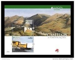 Portugal (Madeira) 2017 Mih. 371/72 (Bl.67) Europa-Cept. Castles MNH ** - Madeira