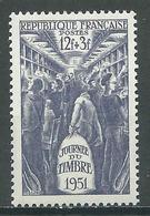France YT N°879 Journée Du Timbre 1951 Wagon-poste Neuf ** - Neufs