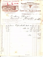 Laine Du Sancy. Louis Albaret. Mercerie Bonneterie En Gros. Clermont Ferrand. 1934. - France