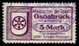 GERMANY, Osnabrück, Used, F/VF - Allemagne