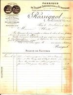 Rossignol. Boulard Successeur. Fabrique De Tolerie Spéciale Pour La Fumisterie. Paris. 1897. - France
