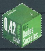 ESPAGNE SPANIEN SPAIN ESPAÑA 2015 DE HB TICS: REDES SOCIALES ED 4971  MI 4981 - 1931-Hoy: 2ª República - ... Juan Carlos I