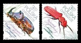 Poland 2018 Mih. 5018/19 Fauna. Insects. Beetles MNH ** - 1944-.... Republic