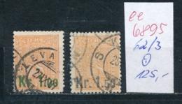 Norge   Nr. 62-63      O      (ee6895  ) Siehe Scan - Gebraucht