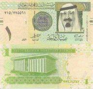 Saudi Arabia P-31b 1 Riyaj 2009 UNC - Arabie Saoudite