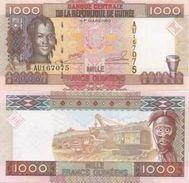 Guinea  P-40 1000 Francs 2006  UNC - Guinea