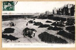 X85069 LES SABLES-D'OLONNE Vendée à La Recherche Du GOËMON 1910s à Fernand GIRAUD 12 Rue Texel Paris LEVY 103 - Sables D'Olonne