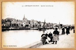 X85070 LES SABLES-D'OLONNE Vendée Quartier De La CHAUME Vendéennes 1910s à Fernand GIRAUD Banque De France Paris N.G 137 - Sables D'Olonne