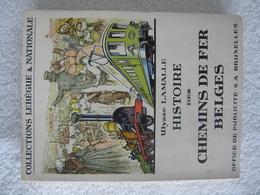 Chemins De Fer Belges – SNCB – édition De 1953 - Rare - Spoorwegen En Trams
