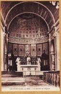 X85105 BRETIGNOLLES-sur-MER (85) Intérieur De L'Eglise 1910s Photo AMIAUD Croix-de-Vie - Bretignolles Sur Mer