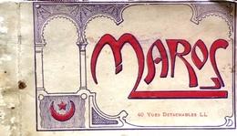 ¤ Carnet De 40 CP Des Villes Et Lieux Du Maroc (complet) - Maroc