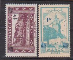 MAROC         N°  YVERT  :     296/297      NEUF AVEC  CHARNIERES      (  CH  62  ) - Maroc (1891-1956)