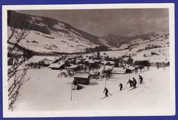 Praz Sur Arly Vallée Et Skieurs 1937 : Très Très Bon état : --1255) - France