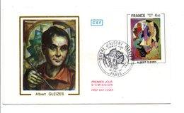 FDC 1981 PEINTURE D'ALBERT GLEIZES - 1980-1989