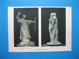 (1935) Sculptures : C. GRANGE - R. RIVOIRE - JANE BLANCHOT - JEAN BOUCHER - A. MAILLARD - POPINEAU - Non Classés