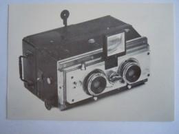 Kaart Carte Form.  15 X 10,5 Cm Toestel Appareil BIOSCOPE - Photographie