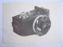 Kaart Carte Form.  15 X 10,5 Cm Toestel Appareil PHOTOSCOPIC - Fotografie En Filmapparatuur
