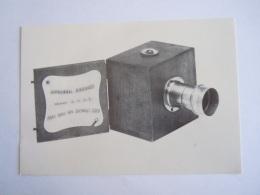 Kaart Carte Form.  15 X 10,5 Cm Toestel Appareil DUBRONI LE PHOTOGRAPHE DE POCHE - Fotografie En Filmapparatuur