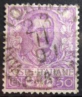 ITALIE              N° 72             OBLITERE - 1900-44 Vittorio Emanuele III