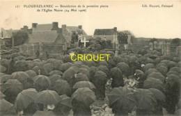 22 Ploubazlanec, Bénédiction De La Première Pierre De L'Eglise Neuve, 1906, Belle Carte Pas Courante - Ploubazlanec
