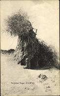 Cp Namibia, Termitenhügel In Der Wüste, Termite Mound - Animals