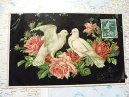 Carte En Relief Plastifiée Souvenir D'amitié - Cartes Postales
