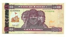 Eritrea - 50 Nakfa 2004 - Erythrée