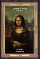CONGO   Painting, L.Da Vinci,  SS  Perf. - Art