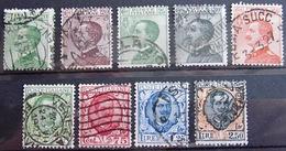 ITALIE              N° 178/185            OBLITERE - Usados