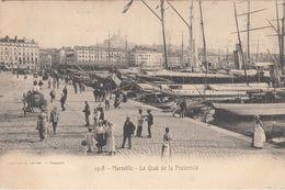 Cp , 13 , MARSEILLE , Le Quai De La Fraternité - Old Port, Saint Victor, Le Panier