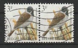 MiNr. 2477  Belgien / 1991, 28. Sept./1997, Febr. Freimarken: Vögel. RaTdr. (105); V = Typopapier, W = Papier Fl., X = N - Gebraucht