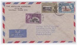 Trinidad & Tobago (003001) Luftpostbrief Gelaufen Nach Frankfurt (Deutschland) - Trinidad & Tobago (1962-...)