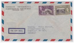 Trinidad & Tobago (003003) Luftpostbrief Gelaufen Nach Frankfurt (Deutschland) - Trinidad & Tobago (1962-...)