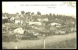 VIRE - 1507 : Le Champ De Foire Après Le Marché - (Beau Plan Animé) - CP Précurseur (1903) - Vire