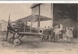"""Aviation De CHATEAUROUX - Camp De La Martinerie - 3è Rt De Chasse - Un """" SPAD """" Avion De Chasse - 1919-1938: Entre Guerres"""