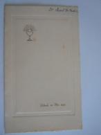 Menu Dilbeek Mei 1952 Communie Herman Tiebout - Menus