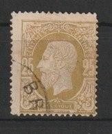 MiNr. 29  Belgien / 1869, 15. Nov./1880. Freimarken: König Leopold II. Bdr. (3010, Unterteilt In 6 Gruppen Zu 105); Dick - 1869-1883 Leopold II.