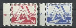 ALEMANIA ORIENTAL  YVERT  34/35   MNH  ** - [6] República Democrática