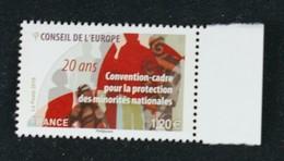 France 2018 Conseil De L'Europe Neuf - Service