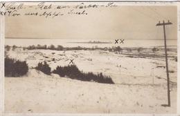 Alte Ansichtskarte Aus Dem WK I -Batl.-Stab Am Narowsee ( Narotsch-See )- - Guerre 1914-18