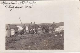 Alte Ansichtskarte Aus Dem WK I -Wegebau In Rußland- - Guerre 1914-18