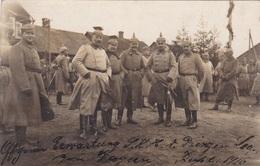Alte Ansichtskarte Aus Dem WK I -Deutsche Offiziere Erwarten Den Prinzen Leopold Von Bayern- - Guerre 1914-18