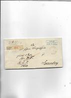 Brief Von Berlin Nach Spremberg 1867 - Briefe U. Dokumente