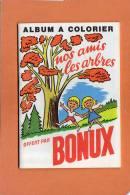 * * Album A Colorier * * Offert Par BONUX ( Non Colorier ) 18 Pages - Publicités