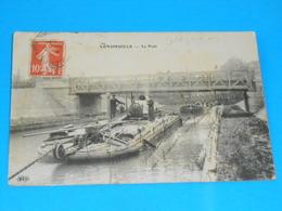 """02 ) Vendhuille - Le Port """" Train De Péniches - Année 1914 - EDIT - ELD - Other Municipalities"""
