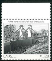 ITALIA / ITALY 2014 - Ponte Real Ferdinando Sul Garigliano - 1 Val. MNH, Come Da Scansione. - Ponti