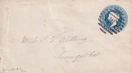 INDE ENTIER POSTAL/GANZSACHE/POSTAL STATIONERY LETTRE - 1882-1901 Empire
